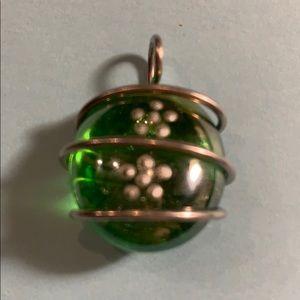 Jewelry - Art glass necklace charm